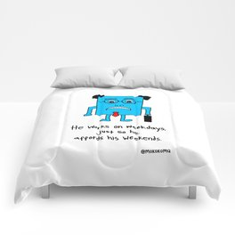 A Typical Employee Comforters