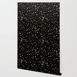 Gold Stars Wallpaper
