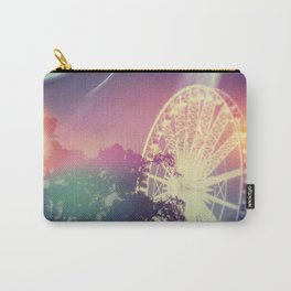 Vintage Ferris Wheel in Lights Carry-All Pouch