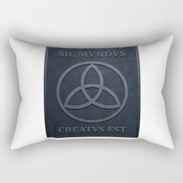 SIC MUNDUS CREATUS EST Rectangular Pillow