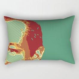 A Piece of Ted Cruz's Head Rectangular Pillow