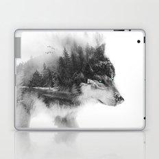 Wolf Stalking Laptop & iPad Skin