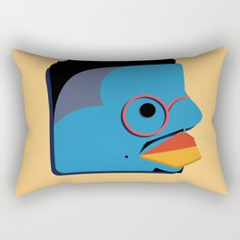 Mr. Triple-Double Rectangular Pillow