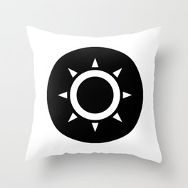 Sun Ideology Throw Pillow