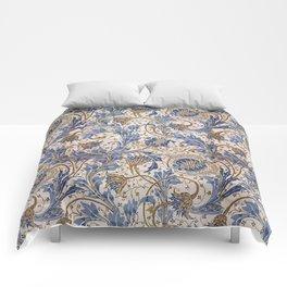 Aged Pomegranate Pattern Comforters