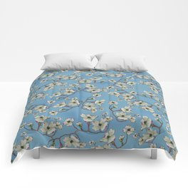 Dogwoods in the Blue Ridge Mountains Comforters