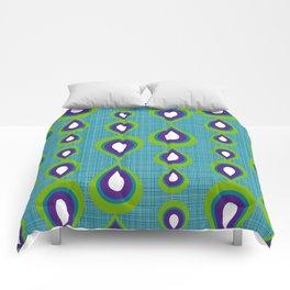 peacock mod drops Comforters
