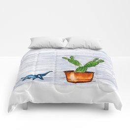 The Cactus & The Happy Elephant Comforters