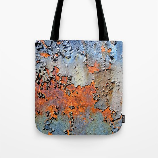 Rusted and Peeling 3 Tote Bag