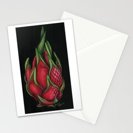 Dragon Fruit Stationery Cards