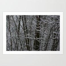 Snowy Day 2 Art Print