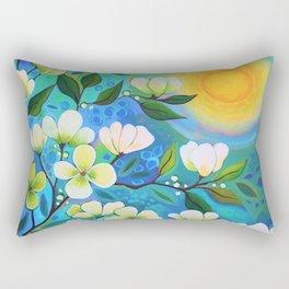 In The Light Rectangular Pillow