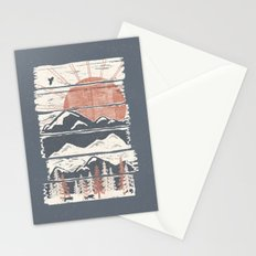 Winter Pursuits... Stationery Cards