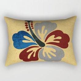 Hibiscus Flower Rectangular Pillow