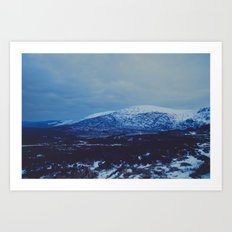 Wicklow in the Snow Art Print