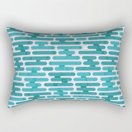 Modern japanese pattern. Rectangular Pillow