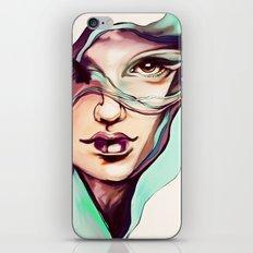 Digital watercolor iPhone & iPod Skin