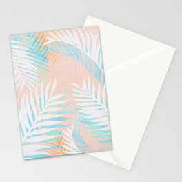 Tropical bliss - palm springs Stationery Cards