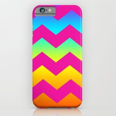 Rainbow Zig - Zag iPhone 6s Slim Case