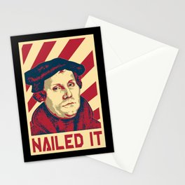 Martin Luther Retro Propaganda Stationery Cards