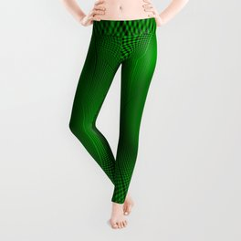 Not easy being Green Leggings