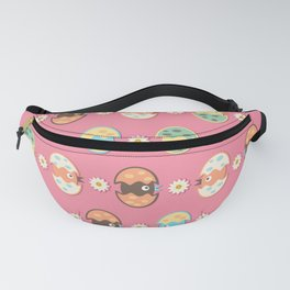 Cute eggs pattern Fanny Pack