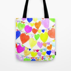 garlands of hearts  Tote Bag