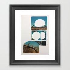 Where's your get up and go? Framed Art Print