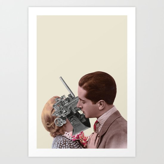 Electro-Romantic Art Print