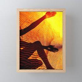 Ancient Sands Framed Mini Art Print