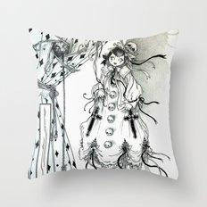 Apparitia Doll Throw Pillow