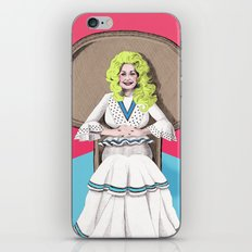 Seventies Dolly  iPhone & iPod Skin