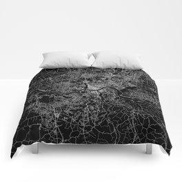 Cincinnati map Comforters