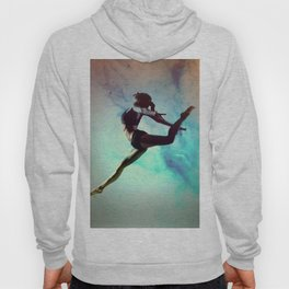Ballet Dancer Feat Lady Dreams Abstract Art Hoody