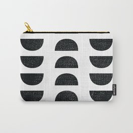 Edith Half Moon Abstract Carry-All Pouch