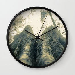 Up in the Trees Wall Clock