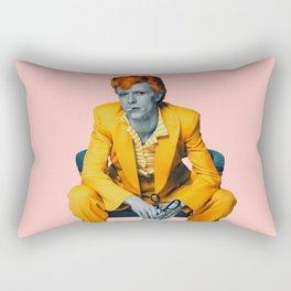 pinky bowie 2 Rectangular Pillow