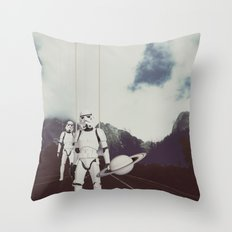 THE WORLD IS OUR Throw Pillow