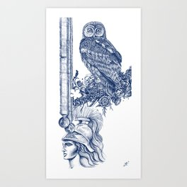 Air of Athena Art Print