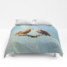 Madagascan Fish Eagle  Comforters