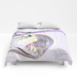 Heart of Glass Comforters