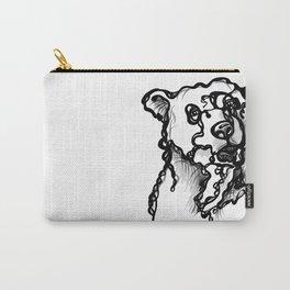 A bear Carry-All Pouch