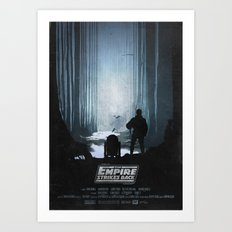 The Empire Strikes Back (1980) Movie Poster Art Print