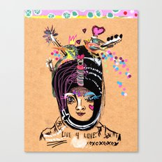 LIVE FOR LOVE Canvas Print