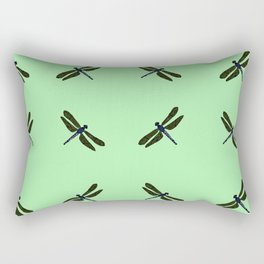 Battimamzelle Design - Mint Green Rectangular Pillow
