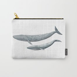 Blue whales (Balaenoptera musculus) - Blue whale Carry-All Pouch