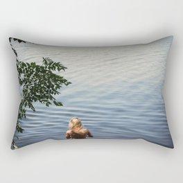 One, Two, Three Rectangular Pillow