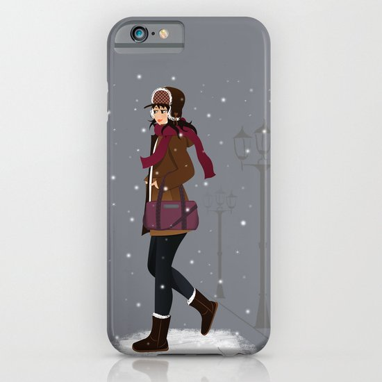 Still snowing iPhone & iPod Case