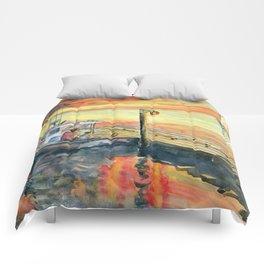 A Delightful Evening Comforters