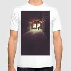 On Guard Mens Fitted Tee MEDIUM White